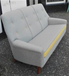 re-upholstered Parker Knoll sofa model 970/1