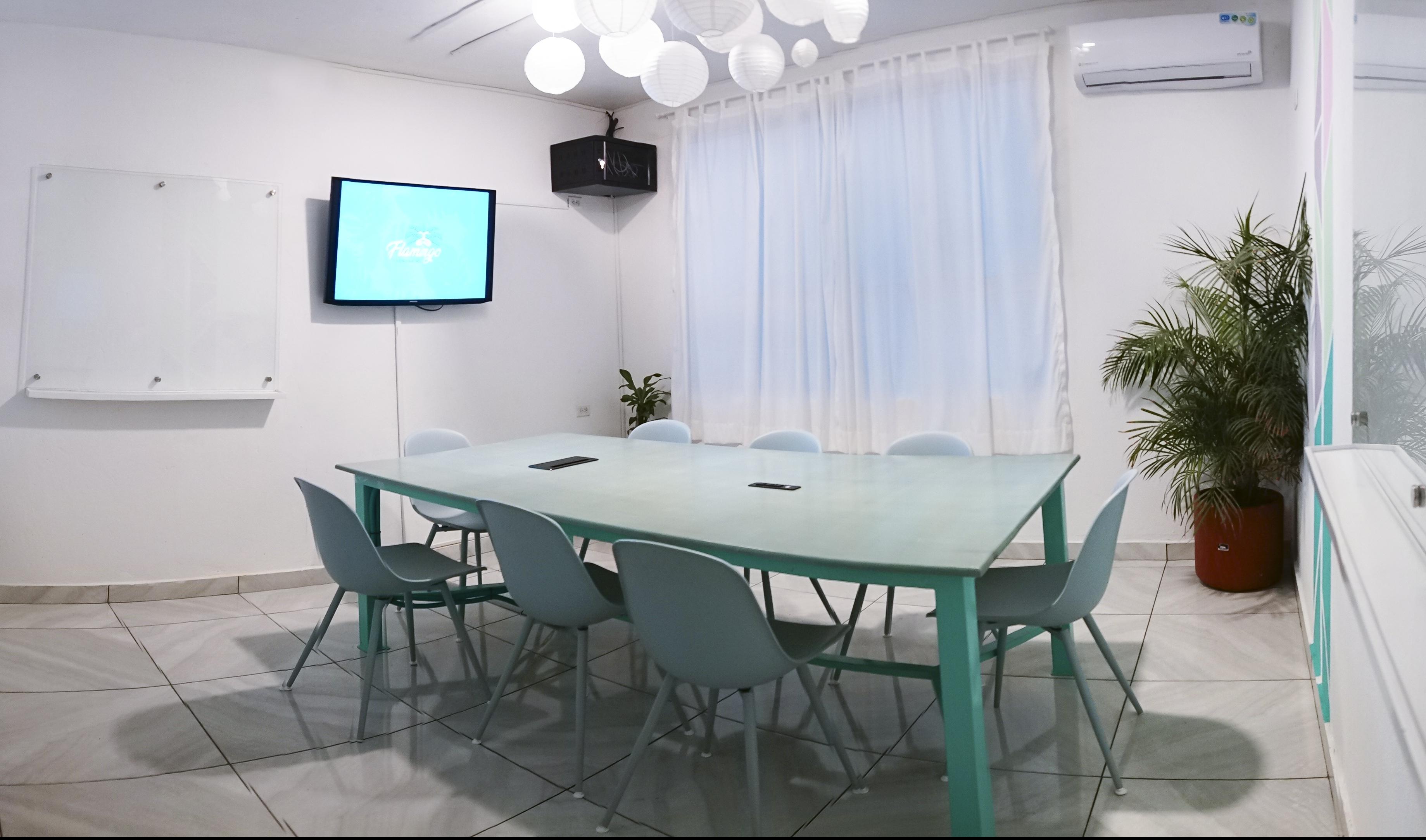 Meeting Room service at Flamingo Coworking in Santa Marta Colombia