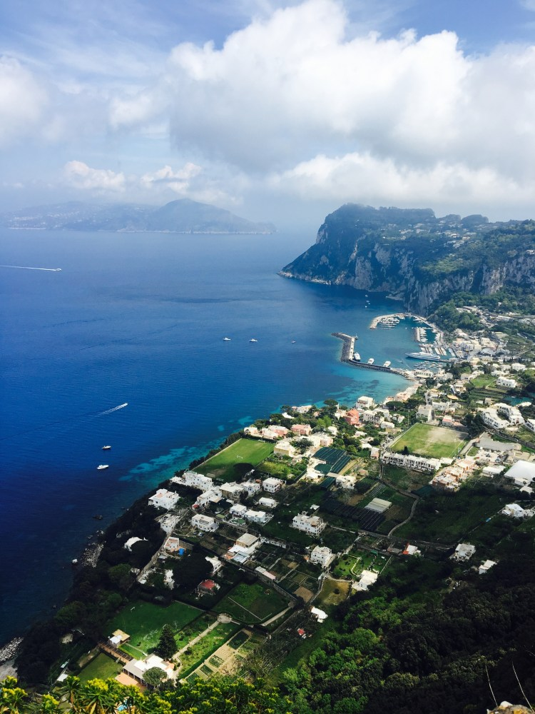 Capri the chic island