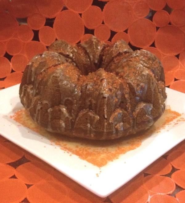 Pumpkin Honey Cake | Flamingo Musings
