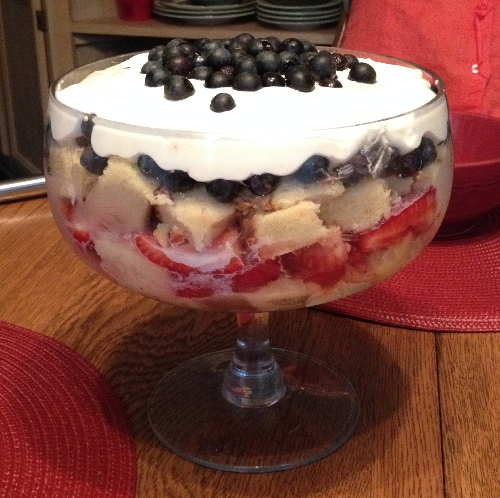 Mixed Berry Trifle | Flamingo Musings