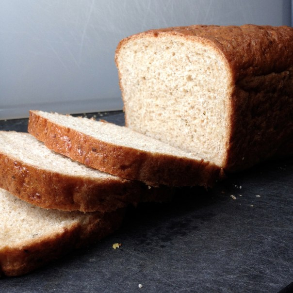 Vegan Multigrain Sandwich Bread |Flamingo Musings