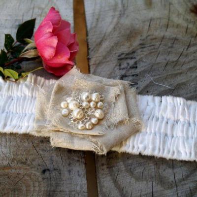 Romantic Ruffled Bracelet