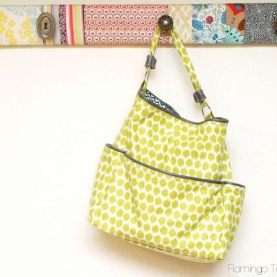 Easy DIY Pocket Tote Tutorial