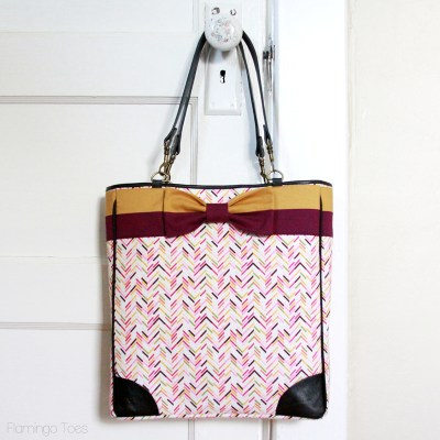 Kate Spade Inspired Bow Tote