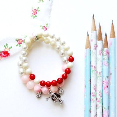 30 Minute Teacher Gift Charm Bracelet