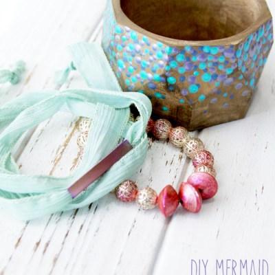 DIY Mermaid Inspired Bracelets