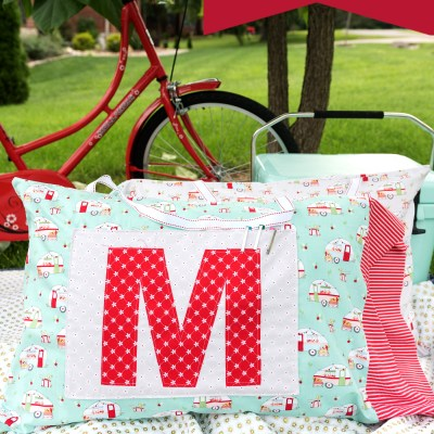Vintage Adventure Pillowcases and Pillow