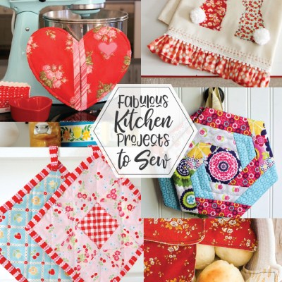 Fabulous Kitchen Projects to Sew