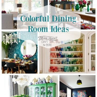 Colorful Dining Room Ideas