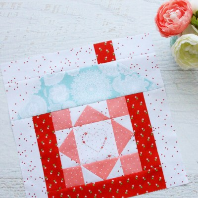 Merry Mini Quilt Sewalong Block 3