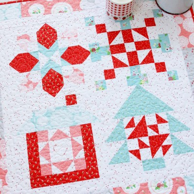 Christmas in July Merry Mini Quilt