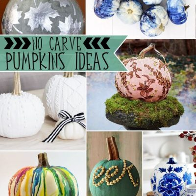 21 Fabulous Cute No Carve Pumpkin Ideas