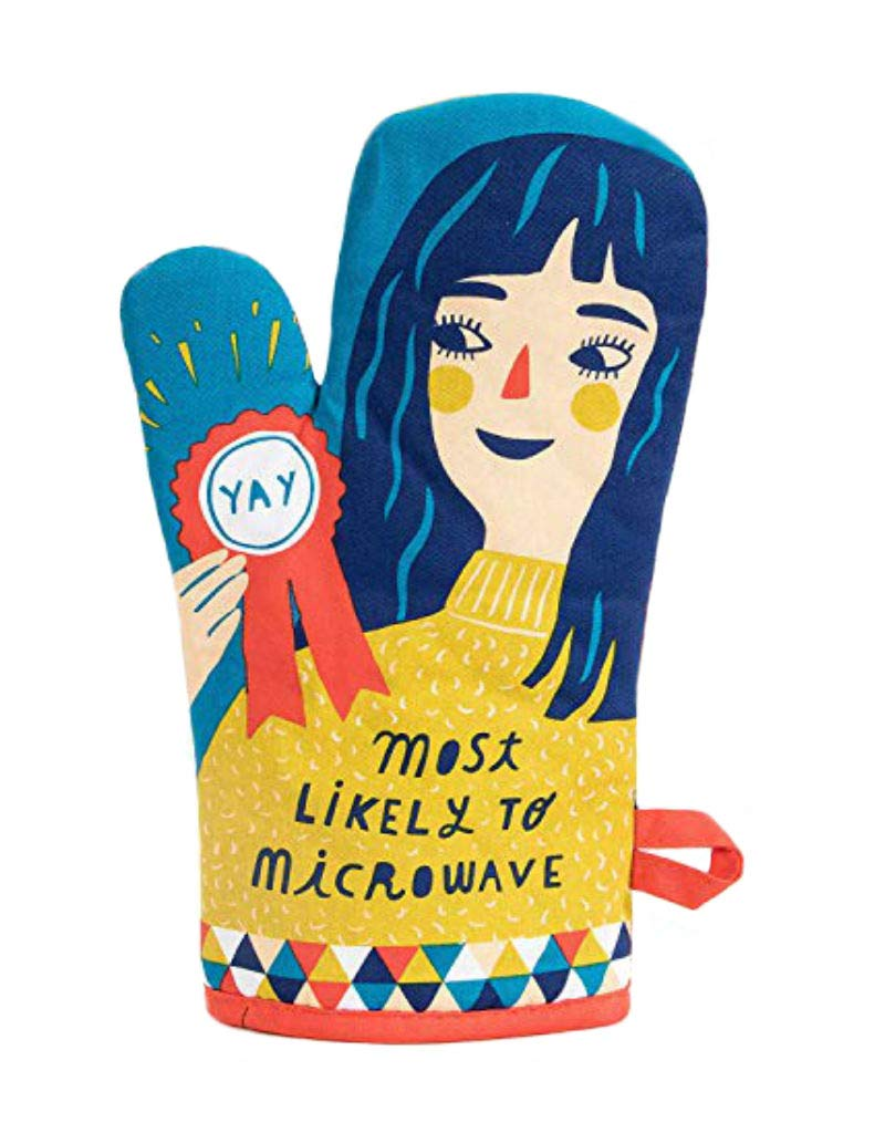 """Gift Ideas for """"Grown Ups""""! by popular Tennessee life and style blog, Flamingo Toes: image of Most Likely to Microwave oven mitt."""