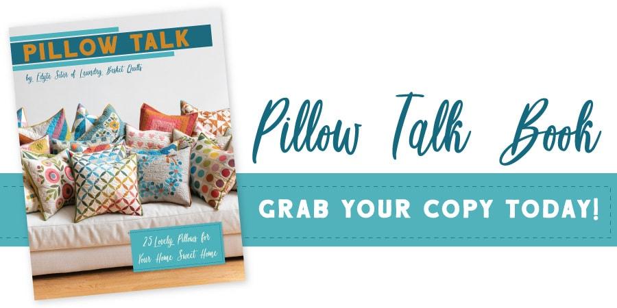 Pillow Talk Book by Edyta Sitar