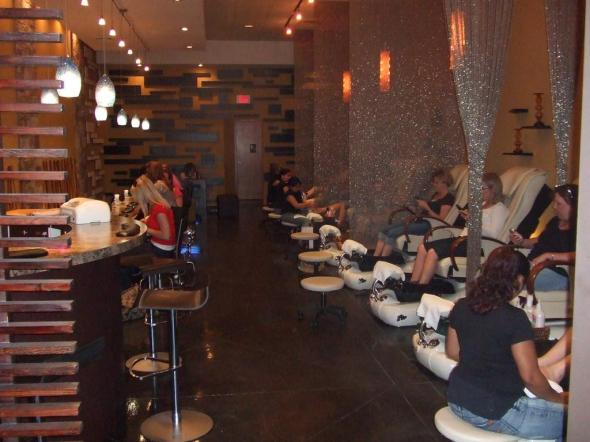 nail bar happy hour manicure