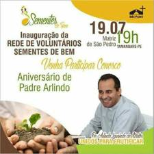 Rede de Voluntarios Sementes de Bem - Instituto Padre Arlindo Laurindo de Matos Junior 014