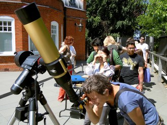 Our new Coronado H-Alpha Solar Telescope