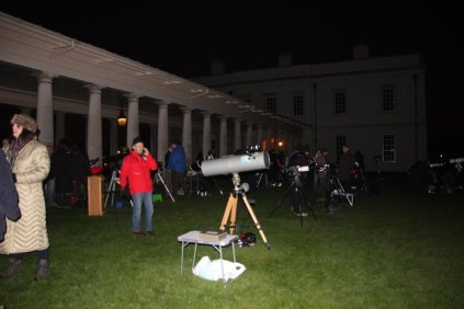 All set for stargazing (or Flamsteed House gazing)!