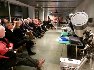 40 people attended the workshop with Malcolm and Mike presenting and Martin assisting.