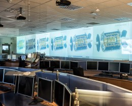 The ATLAS control room
