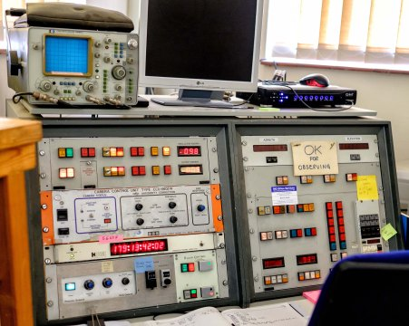Space Geodesy Facility - Control Panel
