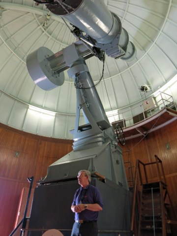 """Thompson 26"""" refractor Keith talks about the history of the RGO and the 26"""""""