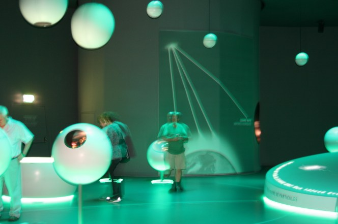 Universe of Particles exhibition