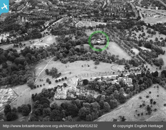 Christie Enclosure in Greenwich Park 1948