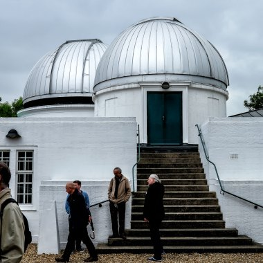Domes of the Allen and Radcliffe Telescopes