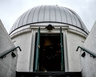 Entrance to the Dome of the Allen Reflector