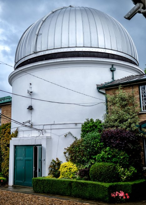 Dome of the Radcliffe Telescope