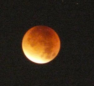 Lunar Eclipse by Bill O'Brien
