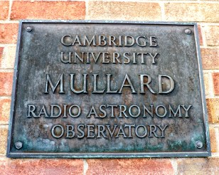Sign at the Mullard