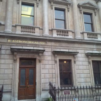 Entrance to the Royal Astronomical Society