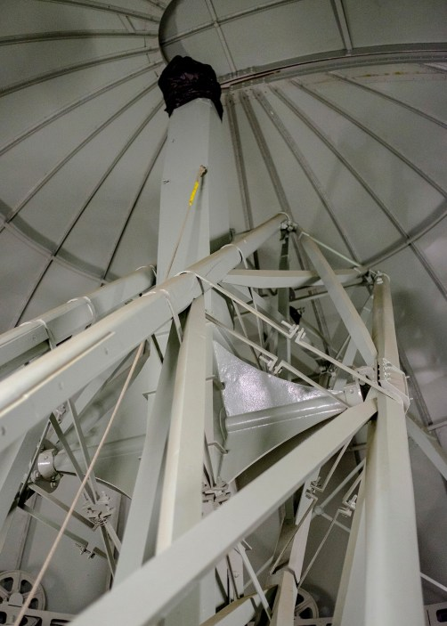 The Northumberland Telescope with a novel lens cap!