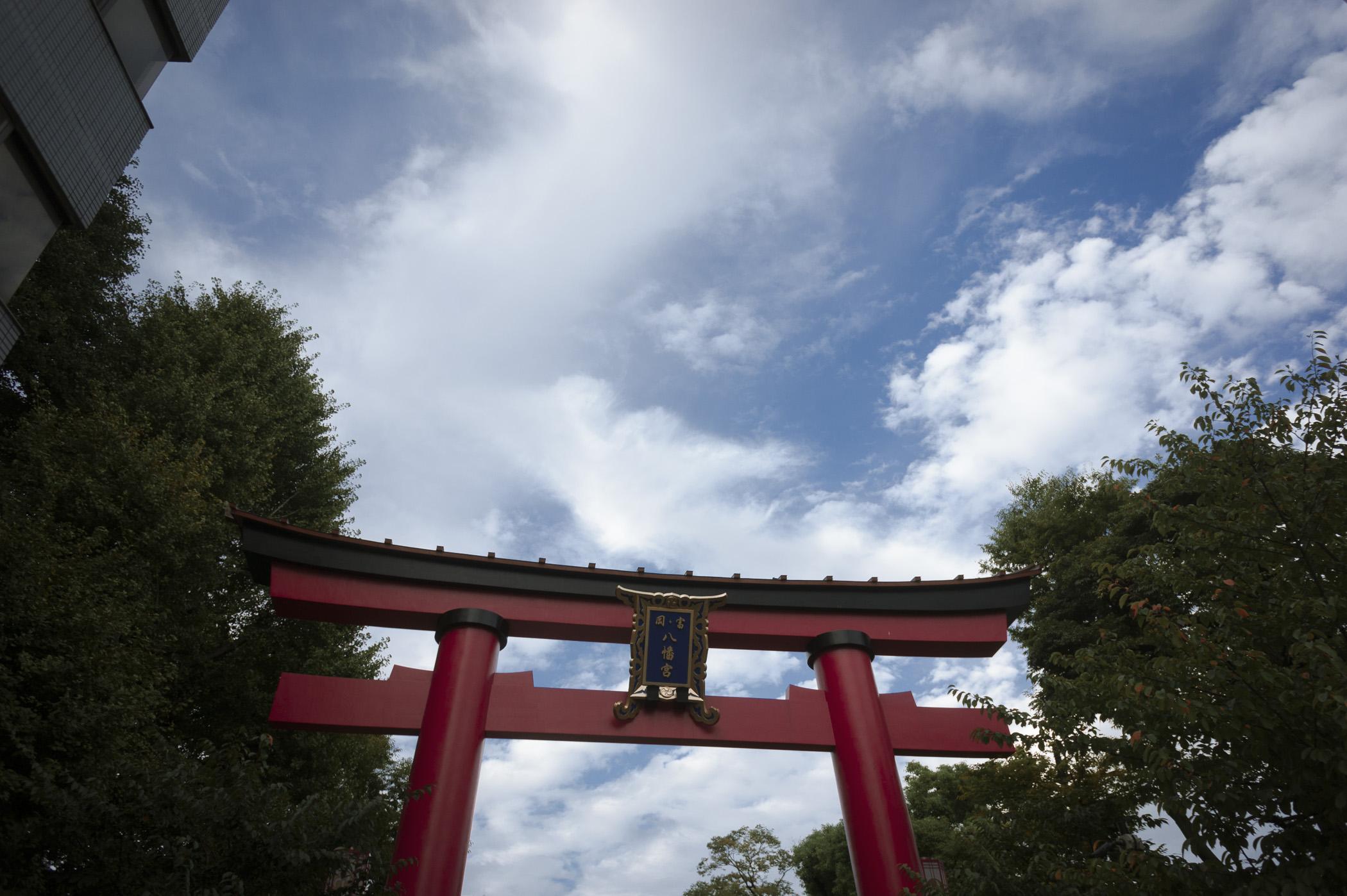 Shrine's in Monzen Nakacho
