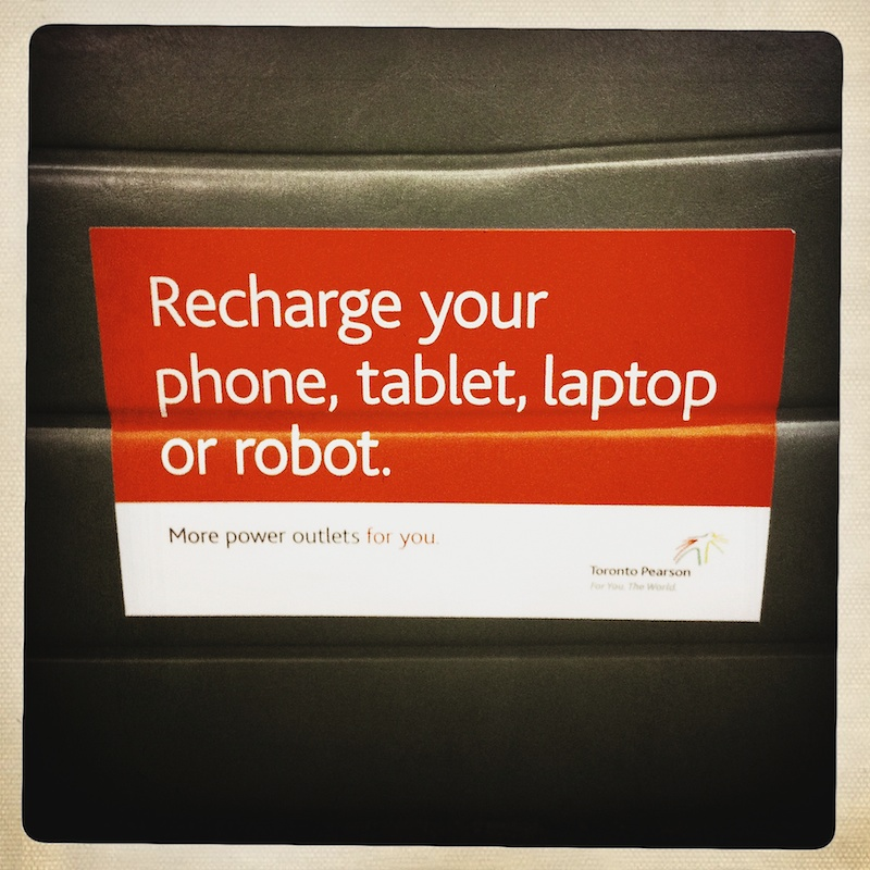 Charge your robot