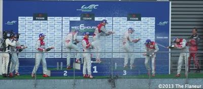 Audi celebrate flaneur
