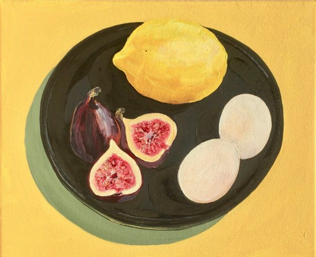 http://flanflanagan.com/painting/yellow-black-white-lemon-figs-eggs/