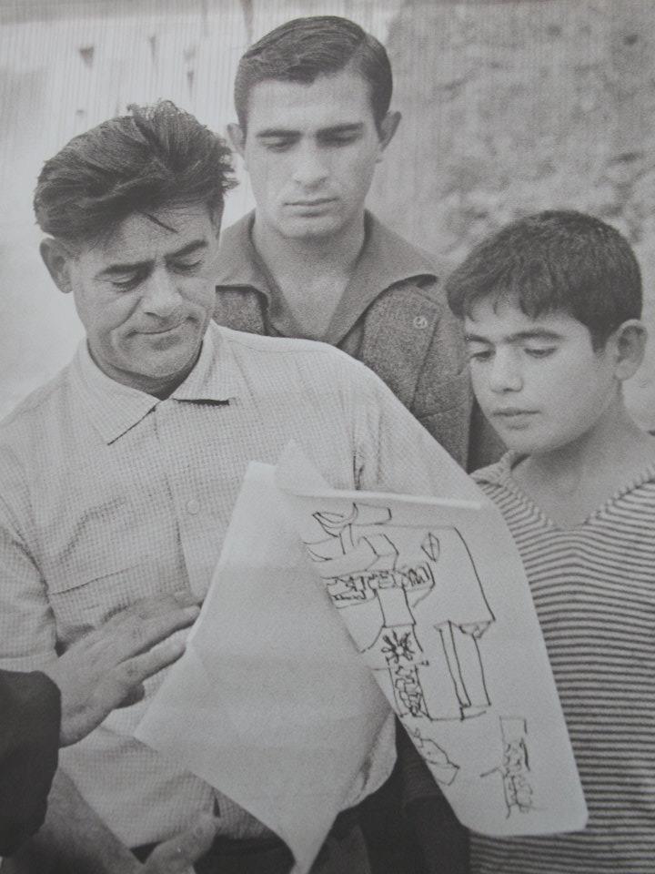 Costantino Nivola in Orani, in Sardinien