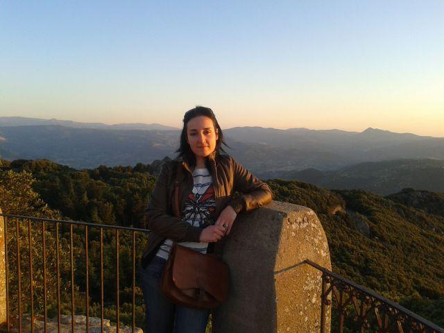Annamaria sul monte Ortobene