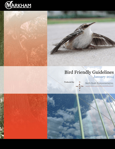 Markham Bird Friendly Guidelines