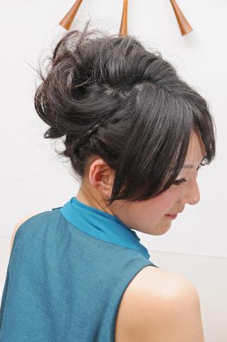 謝恩会アレンジヘアーメイク|青葉区、藤が丘、美容室、フラップヘアー