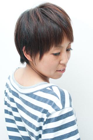 立体アシメカット・ヘアカラー|横浜市、青葉区、藤が丘、美容室、フラップヘアー