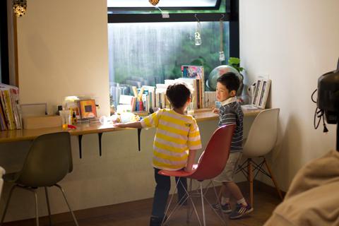 子供カット|青葉区、藤が丘、美容室、フラップヘアー