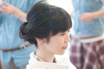 謝恩会アレンジヘアー フラップヘアー/藤が丘/青葉区/美容室
