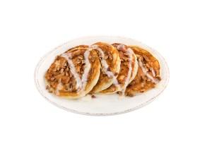 Sticky Bun Pancakes at Flapjack's Pancake Cabin
