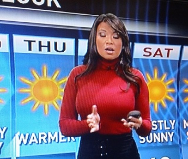 Shocker Sexy Television News Anchors Distract Male Viewers