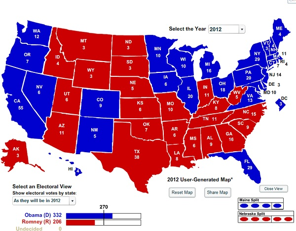 President Obama Re Election 2012